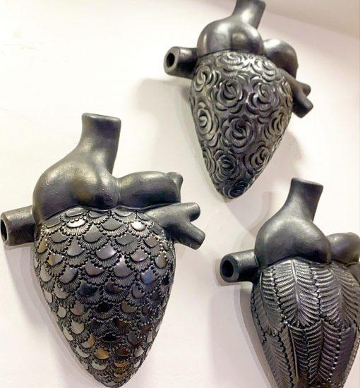 Corazón de Barro negro