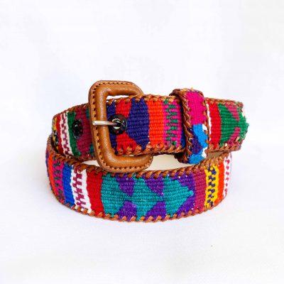 Cinturón Maya multicolor